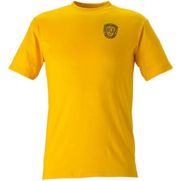 Klässbols SK, t-shirt gul